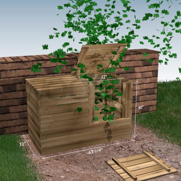 Compost Bin Woodself Free Plans For Woodworking