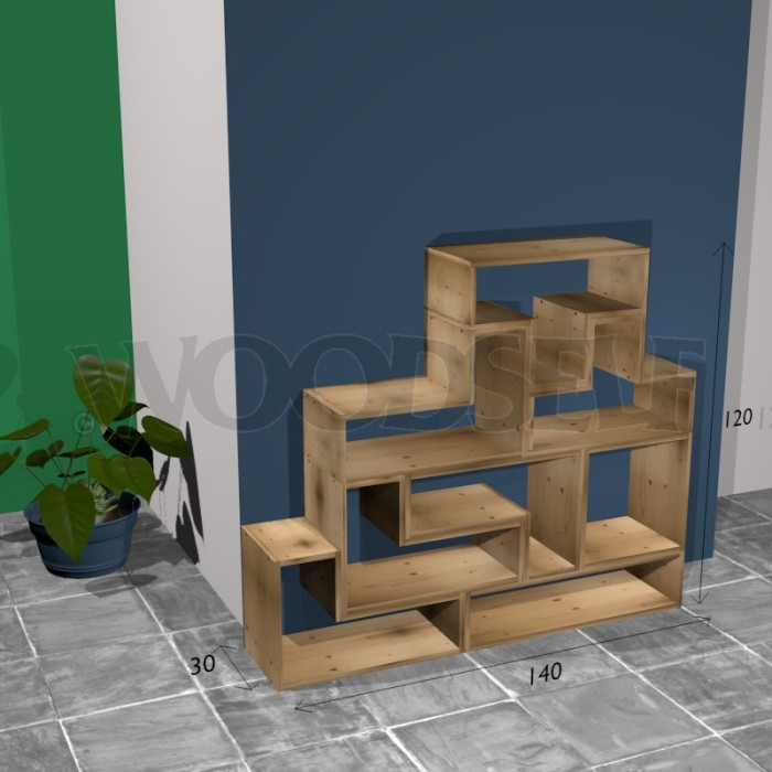 etag re tetris woodself le site des plans de meubles. Black Bedroom Furniture Sets. Home Design Ideas