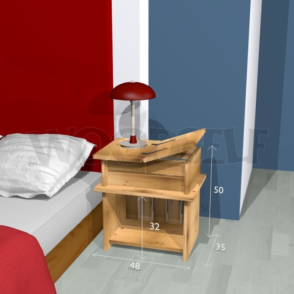 nightstand woodself free plans for woodworking