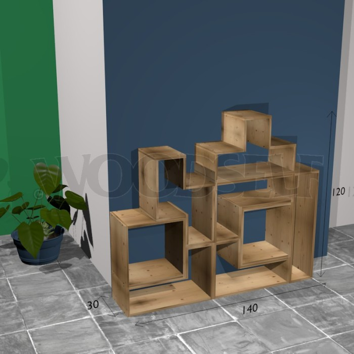 comment fabriquer une tag re tetris woodself le forum. Black Bedroom Furniture Sets. Home Design Ideas