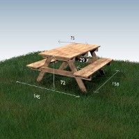 Picnic table Woodself