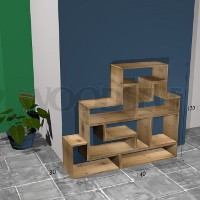 Tetris shelf Woodself